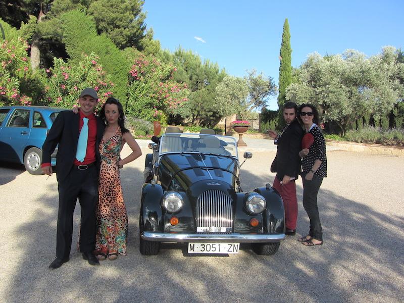 actores infiltrados bodas (coche)