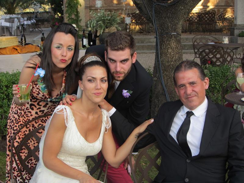actores infiltrados bodas