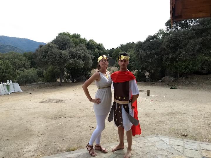 fiesta romanos (pili)