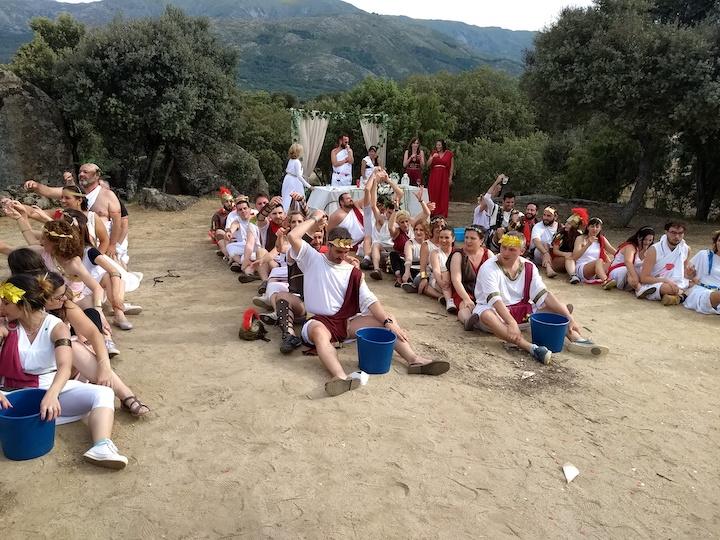 fiesta romanos (acueducto)
