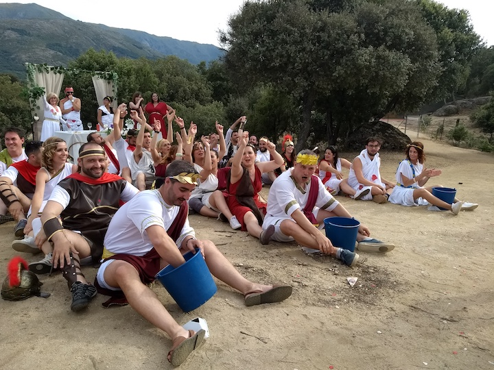 fiesta romanos (seco)